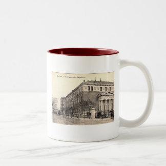 Real Academia Espanola Language Academy in Madrid Two-Tone Coffee Mug