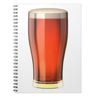 Real Ale Beer Spiral Notebook