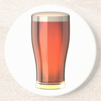 Real Ale Beer Sandstone Coaster
