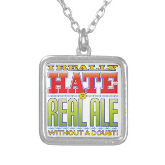 Real Ale Hate Face Necklaces