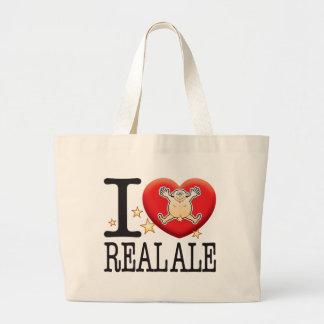 Real Ale Love Man Jumbo Tote Bag