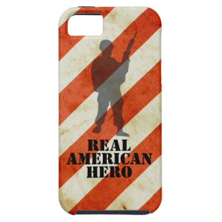 Real American Hero USA Flag iPhone 5 Case Cover