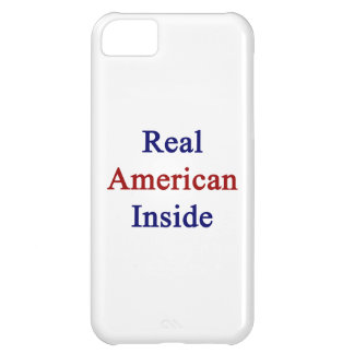 Real American Inside iPhone 5C Covers