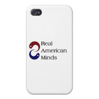 Real American Minds iPhone 4/4S Cover