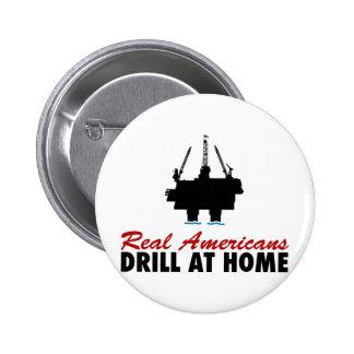 Real Americans Drill At Home Pin