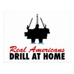 Real Americans Drill At Home Post Cards