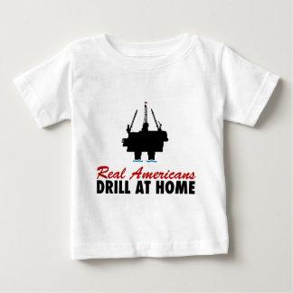 Real Americans Drill At Home T Shirt
