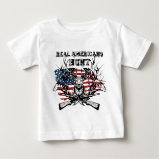 real americans hunt baby T-Shirt