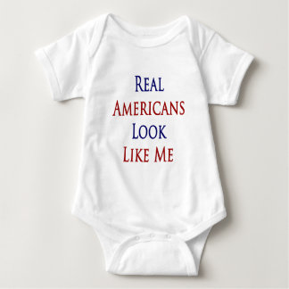 Real Americans Look Like Me T Shirts