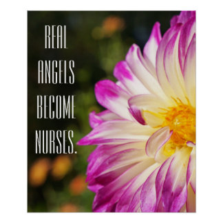 Real Angels become Nurses posters Art Recognition