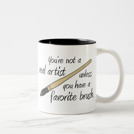 Real Artist Coffee Mug