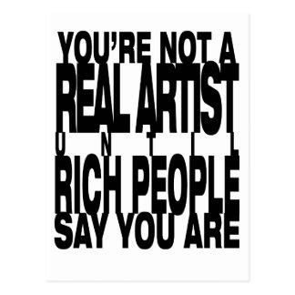 Real.Artist Postcard