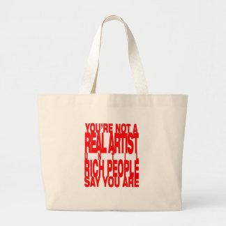 Real.Artist.red Bolsa Tela Grande