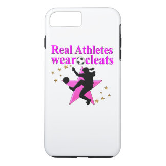 REAL ATHLETES PLAY SOCCER DESIGN iPhone 7 PLUS CASE