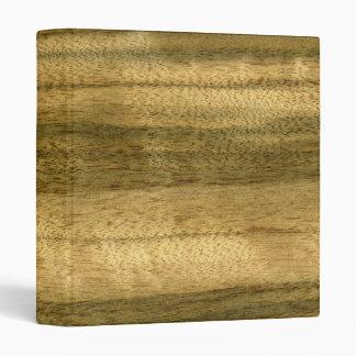 Real Australian Walnut Veneer Woodgrain Binder
