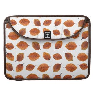 Real Autumn Leaves Pattern Sleeve For MacBooks