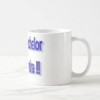 Real Bachelor Classic White Coffee Mug