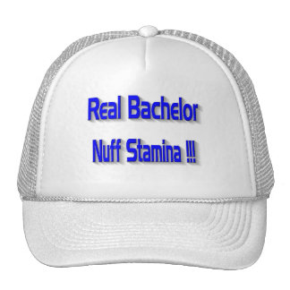 Real Bachelor Hat