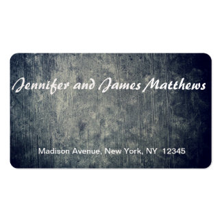 real background Double-Sided standard business cards (Pack of 100)