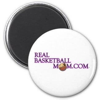 Real Basketball Mom Magnet