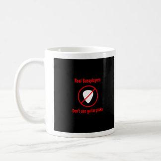 Real bass players coffee mug