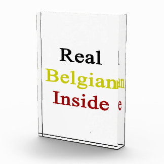 Real Belgian Inside Acrylic Award