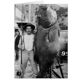 Real Big Fish, early 1900s Card