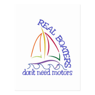 Real Boaters Postcard