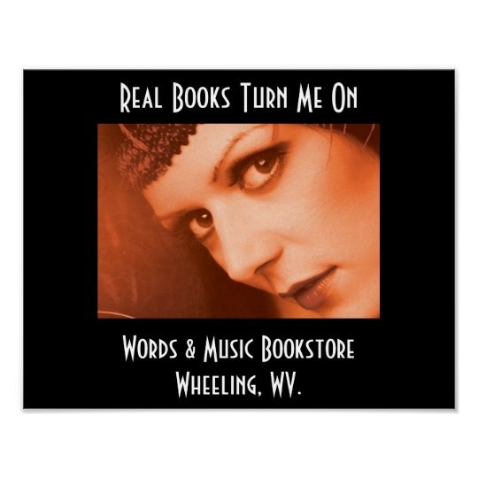 Real Books Turn Me On Poster
