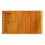 Real Burmese Padauk Veneer Woodgrain Business Card Templates