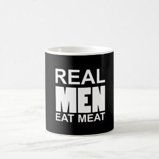 Real but eat meat coffee mug