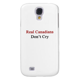 Real Canadians Don't Cry Galaxy S4 Cases