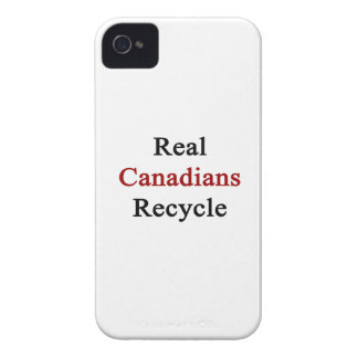 Real Canadians Recycle iPhone 4 Cover