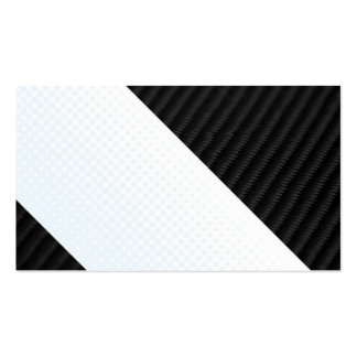 Real Carbon Fiber and Halftone Textured Layout Business Card