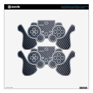 Real Carbon Fiber Photo Texture PS3 Controller Skin