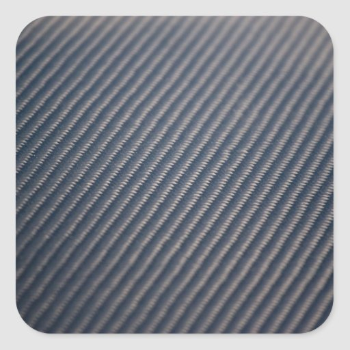 Real Carbon Fiber Photo Texture Square Sticker