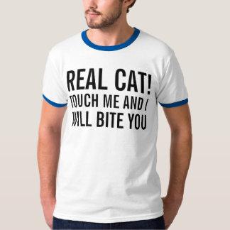 real cat tee shirt