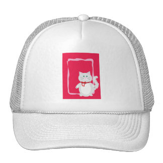 Real Cats Love Pink! Trucker Hat