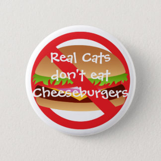 Real Cats Pinback Button
