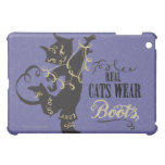Real Cats Wear Boots iPad Mini Case