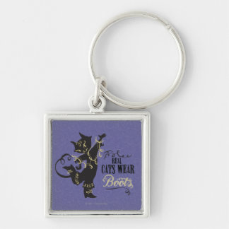 Real Cats Wear Boots Keychain