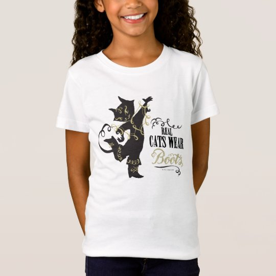 Real Cats Wear Boots T-Shirt