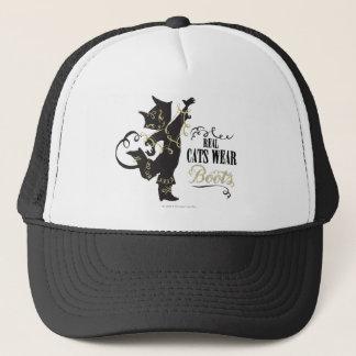 Real Cats Wear Boots Trucker Hat