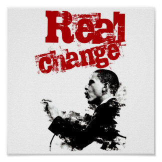 Real Change Posters