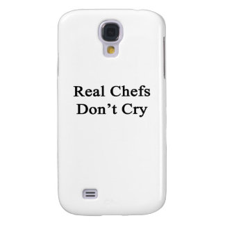Real Chefs Don't Cry Galaxy S4 Case