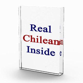 Real Chilean Inside Acrylic Award