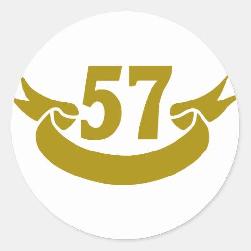 real-cinta 57 pegatinas redondas