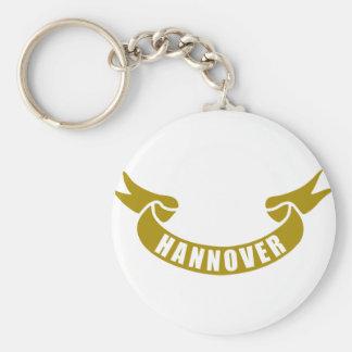 Real-cinta-Hannover Llavero Redondo Tipo Pin