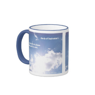 real cloud Love can shine in places that can't ... Ringer Coffee Mug