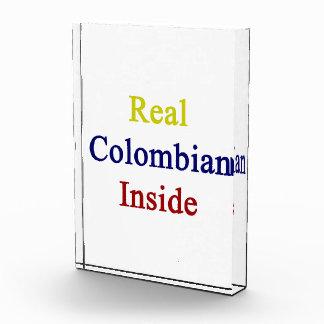 Real Colombian Inside Acrylic Award